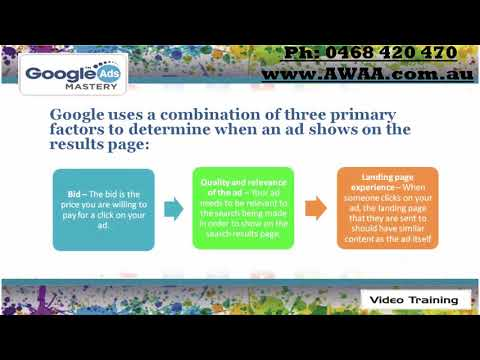 Google Adwords Video Course Preview